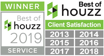 Best of Houzz – The highest level for client satisfaction by the Houzz community.